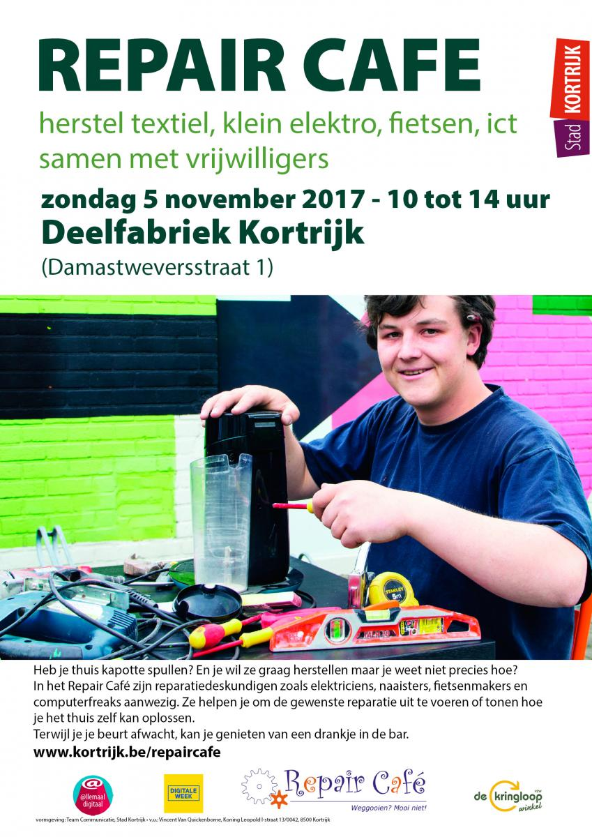 Repair Cafe deelmarkt