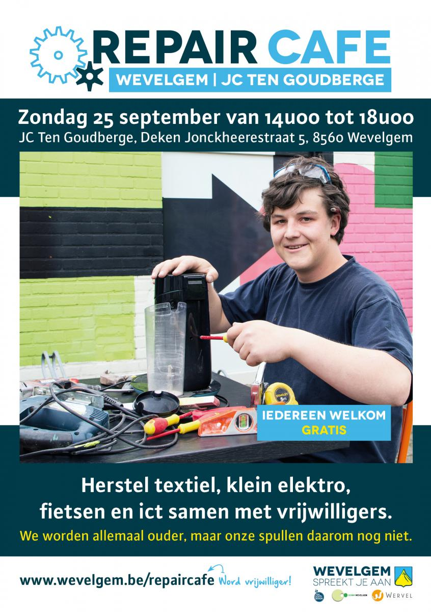 repair cafe wevelgem
